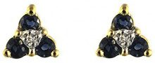 Ivy Gems Donna  9 cts (375)  Oro giallo Ronde     FINEEARRING