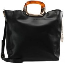 Faith TORTOISE HANDLE GRAB Shopping bag black