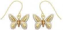Bijoux pour tous - Orecchini pendenti, Oro 9 carati (375) Tricolore, Donna