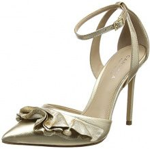 Carvela Scarpe col Tacco Punta Chiusa Donna, Oro (Gold (Gold)), 38