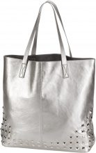 Borsa shopper con borchie (Argento) - bpc bonprix collection