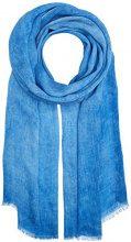 edc by Esprit 057ca1q004, Scialle Donna, Blu (Blue), Taglia Unica (Taglia Produttore: 1SIZE)