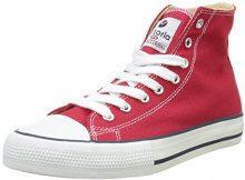 Victoria BOTIN Basket autoclave, Sneaker a Collo Alto Donna, Rosso (Rojo), 38 EU