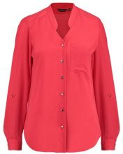 Dorothy Perkins NOTCH NECK ROLLSLEEVE Camicia red