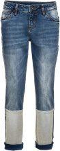 Jeans boyfriend con fondo rovesciato (Blu) - RAINBOW