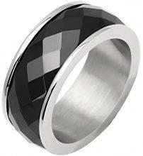 Anello in acciaio inossidabile, ceramica, 437072 e Acciaio, 14, cod. 437072-54