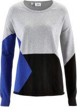 Pullover patchwork (Grigio) - bpc bonprix collection