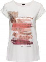 T-shirt con stampa metallizzata (Bianco) - BODYFLIRT