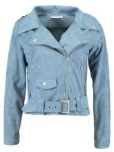 Glamorous Petite BIKER Giacca in similpelle ditsy blue