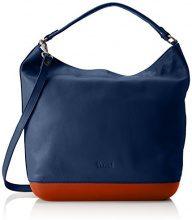 Think Tasche_282812 - Borse a spalla Donna, Blau (Capri/kombi 90), 12x33x38 cm (B x H T)