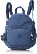 Kipling Mini Backpack - Zaini Donna, Blau (Jazzy Blue), 17x19x21.5 cm (B x H T)