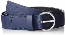 Calvin Klein Misha Logo Belt, Cintura Donna, Blu (Blue Night), 90
