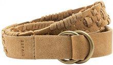 ESPRIT aus hochwertigem Leder-Cintura Donna Braun (CARAMEL 235) Small