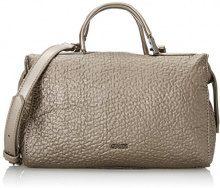 Gaudì Small Top Handle Bag-Linea Allison-cm.27 x 17 x 15, Borsa a Mano Donna, Bronzo (Pewter), 27 x 17 x 15 cm (W x H x L)