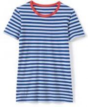 T-shirt a righe scollo rotondo