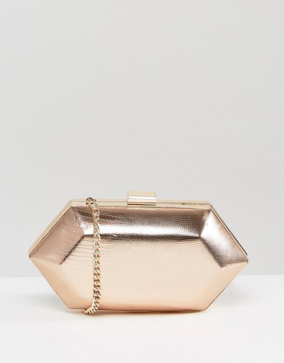 35b36b1ac0 Miss KG - Pochette strutturata con gioielli - Oro | Sconto 37% | Bantoa