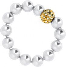 Bracciale Fashionvictime  Bracciale Donna  - Gioiello Placcato Argento - Cristallo, Perla