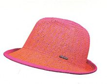 CaPO Ibiza Color HAT, Cappelli da Sole Donna, Orange (Pumpkin 34), Taglia unica