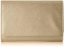 MENBUR Biancano - Pochette da giorno Donna, Gold, 5x15x22 cm (B x H T)