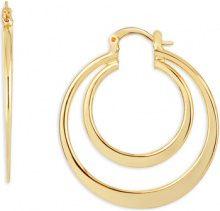 Orecchini Fashionvictime  Orecchini Creole Donna  - Gioiello Placcato Oro