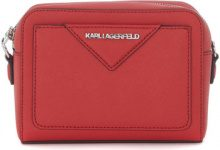 Borsa a tracolla Karl Lagerfeld  Borsa a tracolla  in pelle saffiano rossa
