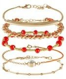 ONLEVIAN 5-IN-1 - Bracciale - bright orange
