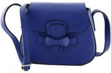 Borsa a tracolla Dream Leather Bags Made In Italy  Borsa A Spalla In Vera Pelle Colore Blu - Pelletteria Toscana Ma