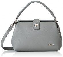 Boscha Frame Bag - cartella Donna, Grau (Grey), 9x18x26 cm (L x H D)