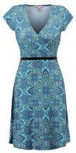 Anna Field FLORAL Vestito di maglina turquoise/green