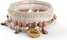 Set di bracciali (Beige) - bpc bonprix collection