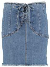 Bardot CORSET SKIRT Gonna di jeans vintage