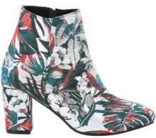 Ankle boots a fiori