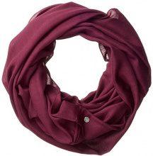 ESPRIT Accessoires 997ea1q803, Sciarpa Donna, Rosso (Bordeaux Red 600), Taglia unica