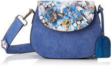Laura Vita Dieppe - Borse a spalla Donna, Blau (Bleu), 7x18x22 cm (B x H T)