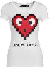 Love Moschino Tshirt con stampa white