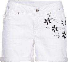 Shorts con fiori: must have (Bianco) - BODYFLIRT