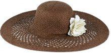 Cappello di paglia con fiore