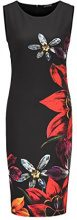 APART Fashion Glamour: the Power of RED-Black, Vestito Donna, Mehrfarbig (Schwarz-Multicolor), 38