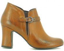 Stivaletti Grace Shoes  3039 Tronchetto Donna Cuoio