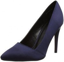 New LookTaisy - Scarpe col tacco punta chiusa donna , blu (Blue (Navy)), 36