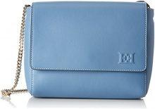 ESCADA- Ab737, Borse a spalla, Donna Blu (Dusk Blue), 6x18x22 cm (B x H x T)