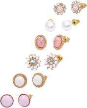 Set di orecchini (set 12 pezzi) (Oro) - RAINBOW