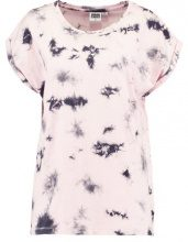Urban Classics LADIES BATIC EXTENDED SHOULDER TEE Tshirt con stampa pink/grey