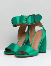 ASOS - HOLD TIGHT - Sandali con tacco - Verde