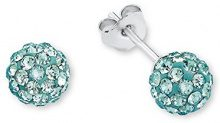 Amor 925 argento turchese Cristallo