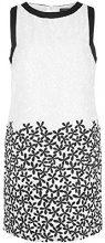 APART Fashion 21934-Vestito  Donna    Schwarz (schwarz-weiß) 36