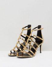 New Look Wide Fit - Sandali con listini - Oro