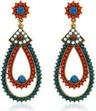 Orecchini Fashionvictime  Orecchini Donna  - Gioiello Metallo - Cristallo