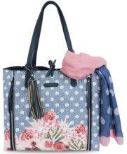 Borsa Shopping L'atelier Du Sac  4895 Borse medie Accessori Blu