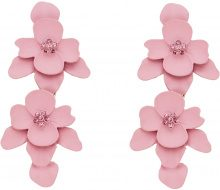 Orecchini con fiori (rosa) - bpc bonprix collection